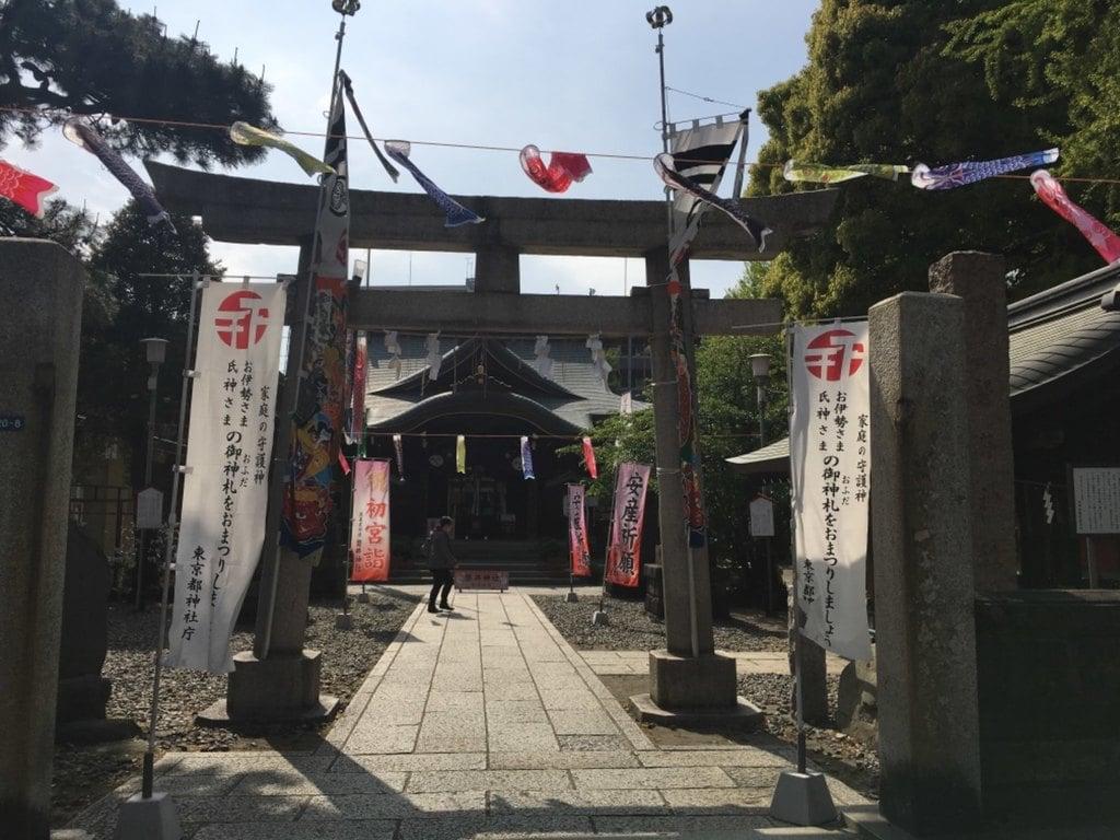 磐井神社の鳥居