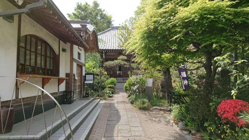 蟠龍寺の庭園