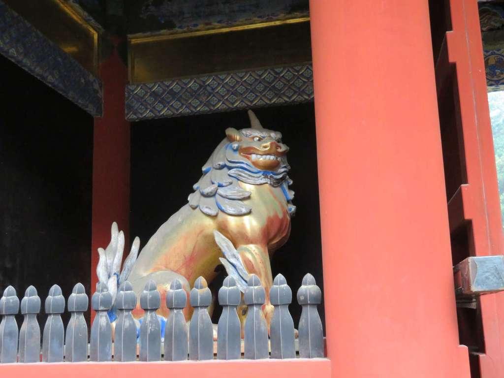 日光東照宮の狛犬
