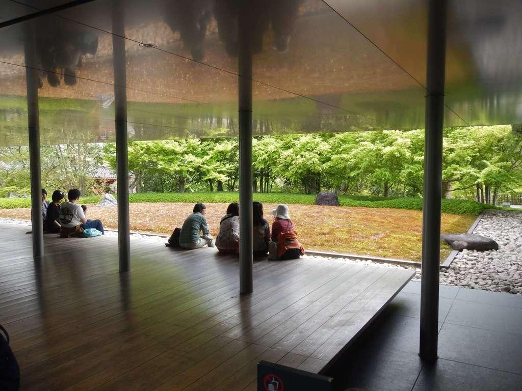 平等院の庭園