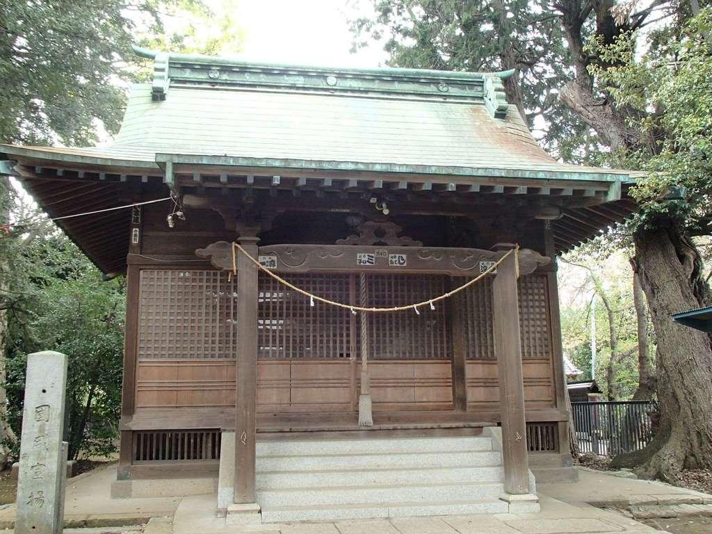 氷川社の本殿