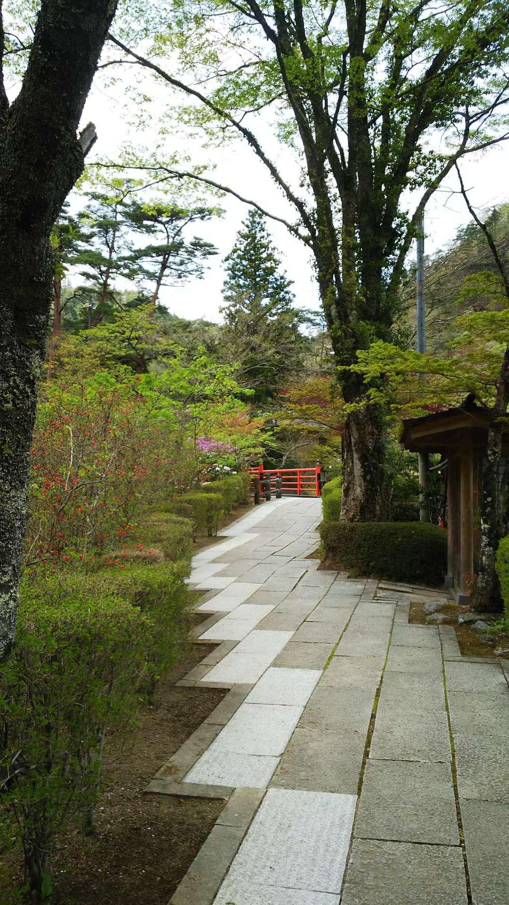 徳善院明王密寺の庭園