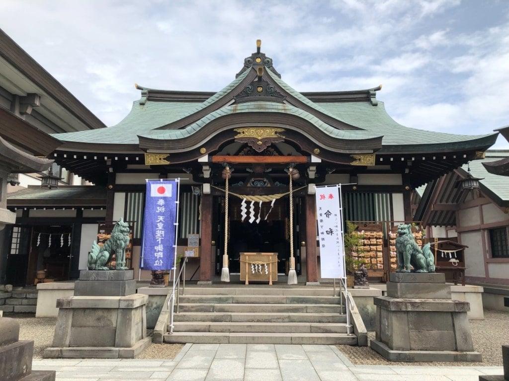 里之宮 湯殿山神社の本殿