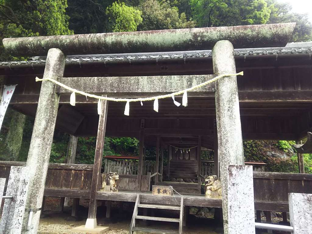 南宮神社の鳥居