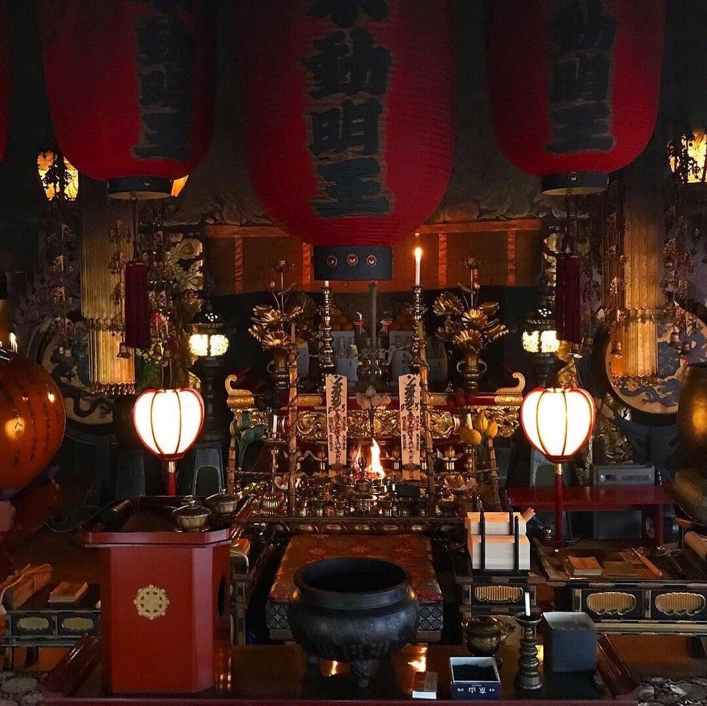 持寳院(多気不動尊)の本殿