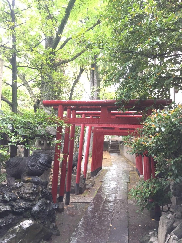 富岡八幡宮の鳥居