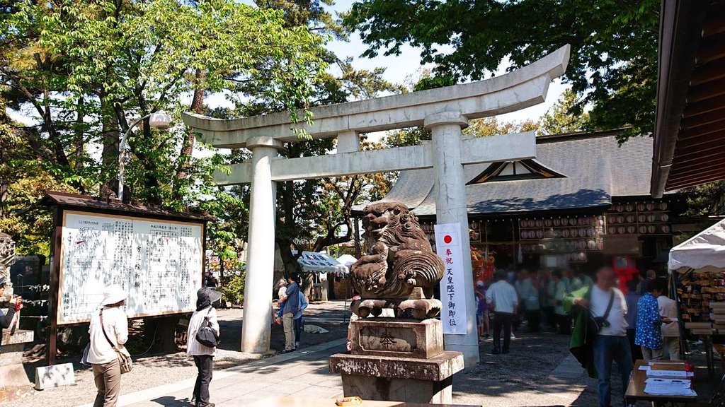 稲積神社のお祭り