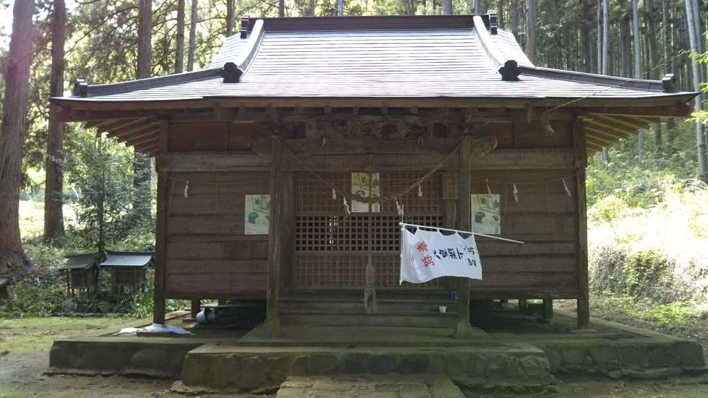 篠尾神社の本殿