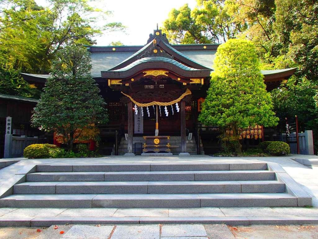 春日部八幡神社の本殿