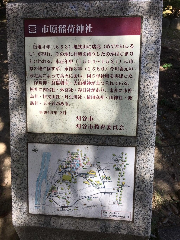 市原稲荷神社の歴史