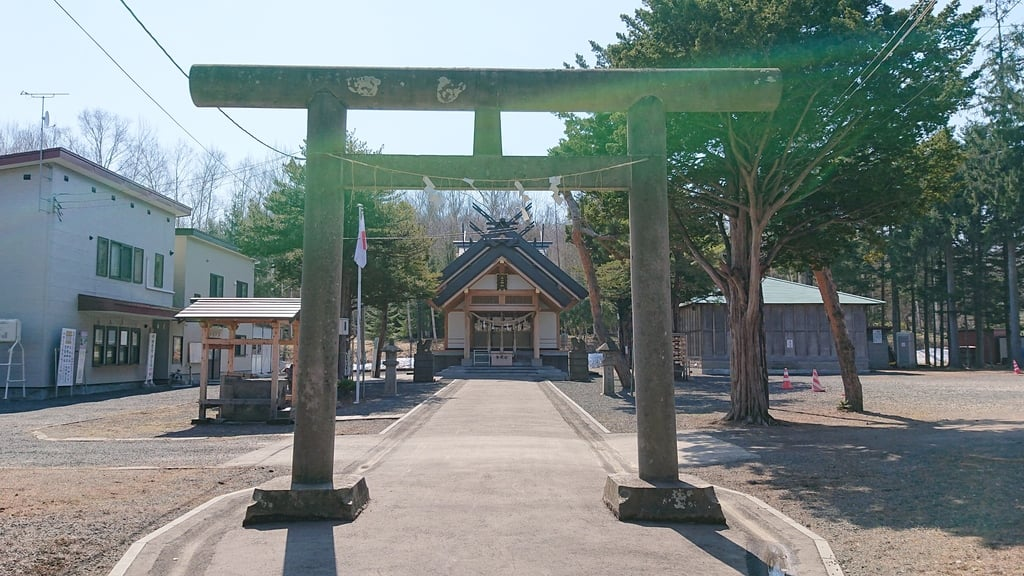石山神社の鳥居