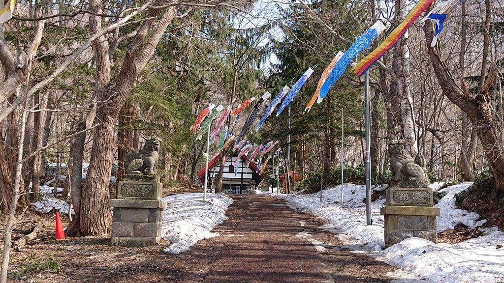 定山渓神社のお祭り