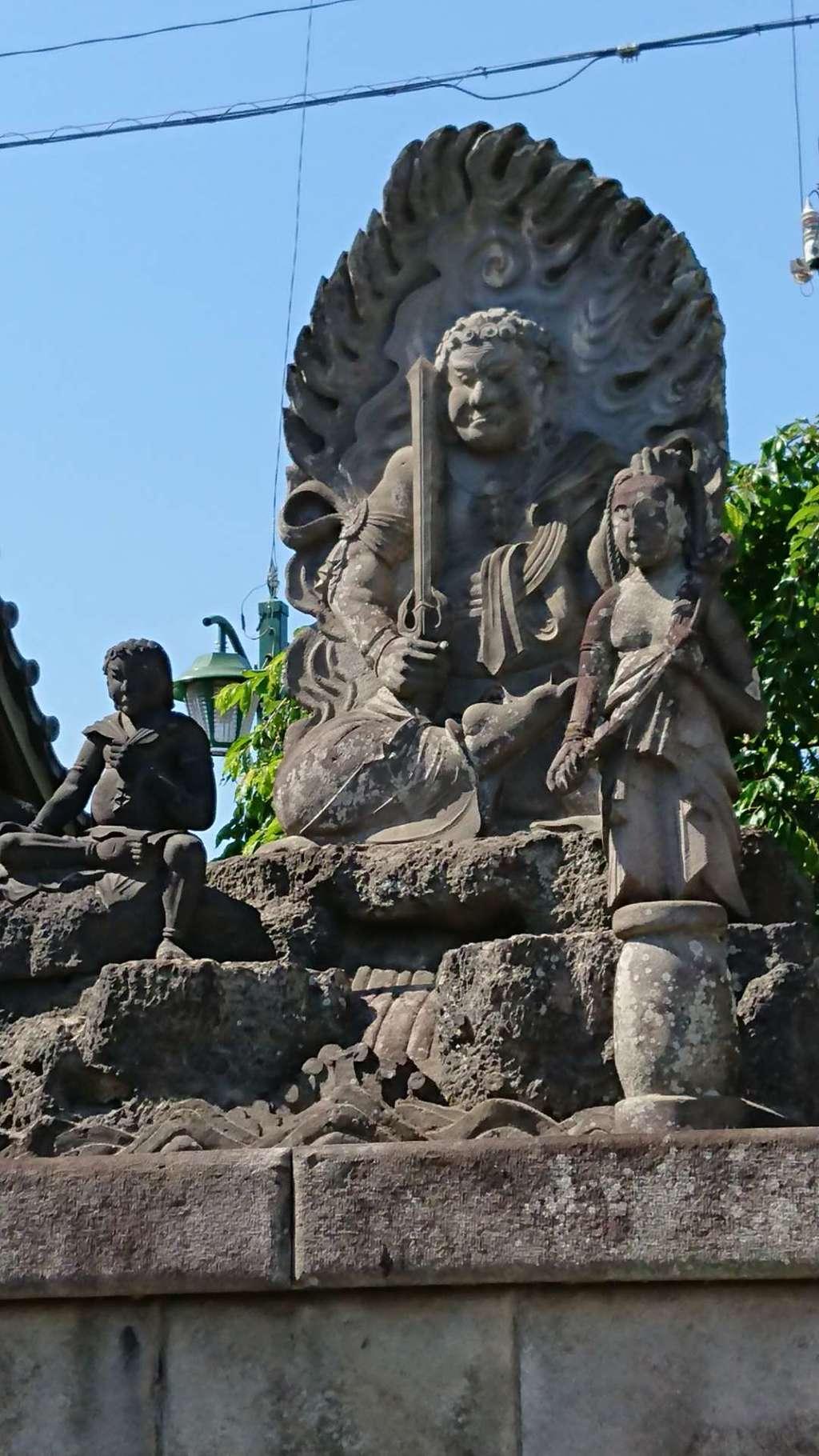 成田山川越別院の仏像