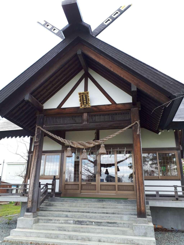 新篠津神社の本殿