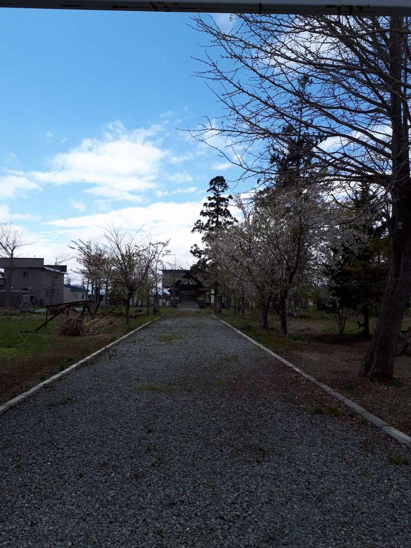 新篠津神社の本殿・本堂(北海道石狩金沢駅)