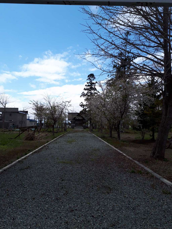 新篠津神社の境内・文化財
