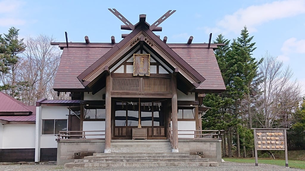 澄丘神社の本殿