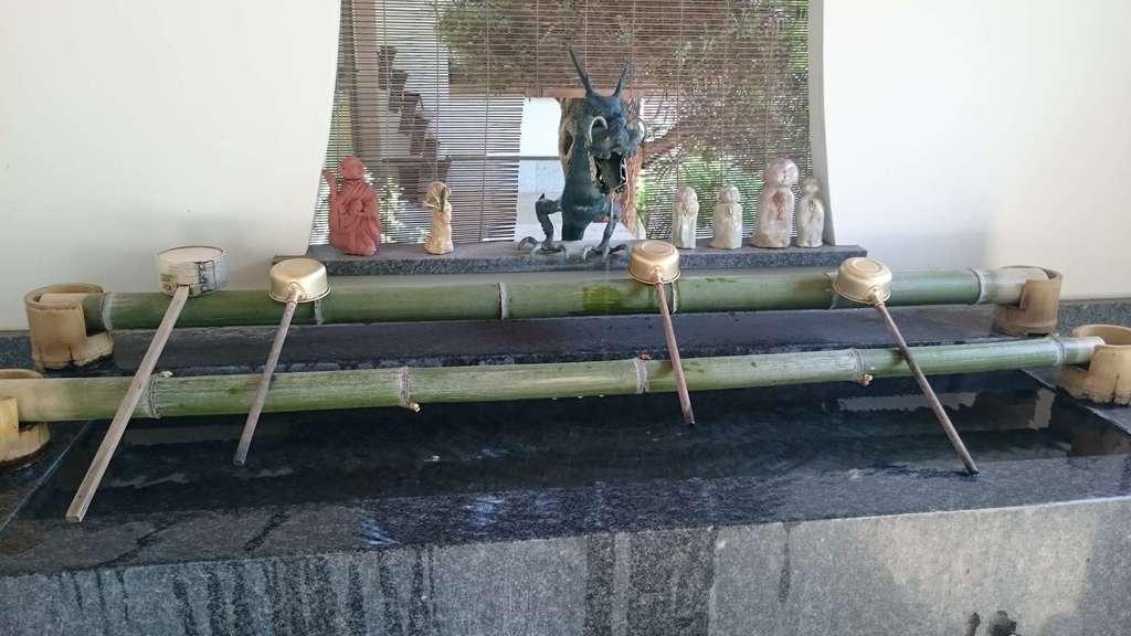 密藏院の手水