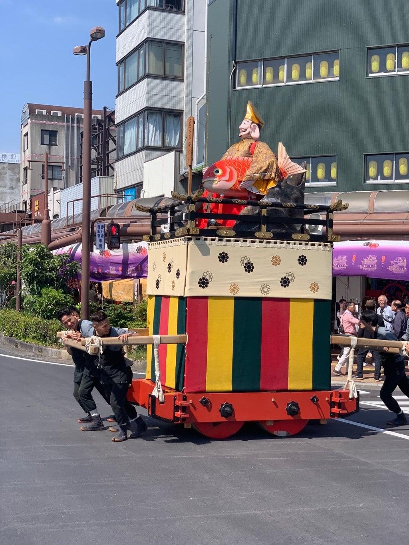 大垣八幡神社のお祭り