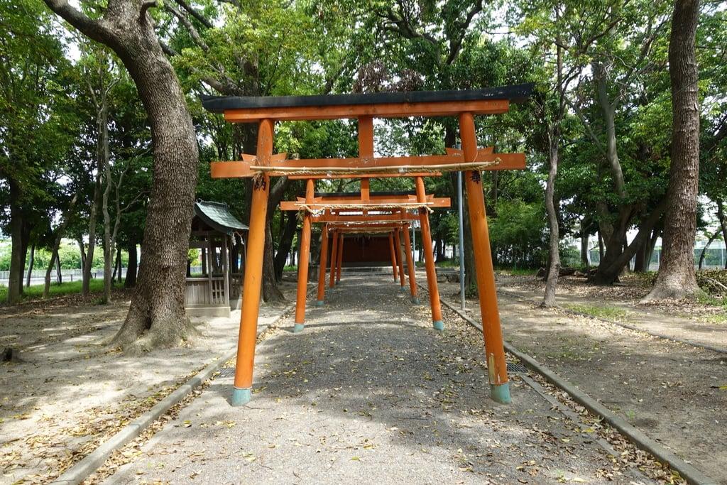 歩人山 稲荷神社の鳥居