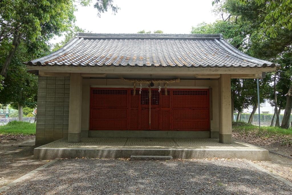 歩人山 稲荷神社の本殿