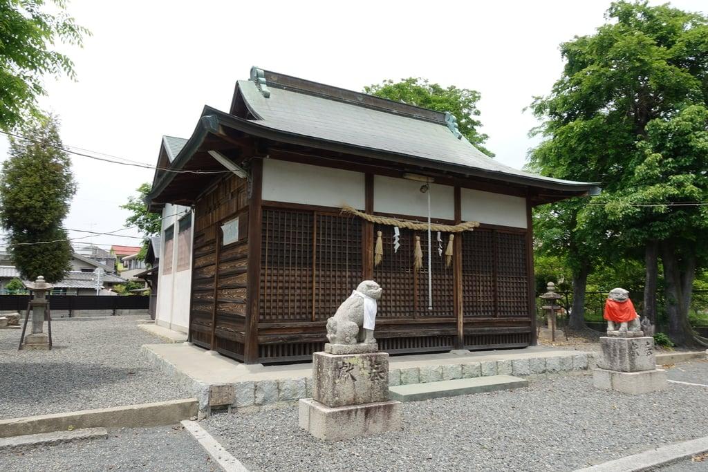 筑紫津神社の本殿