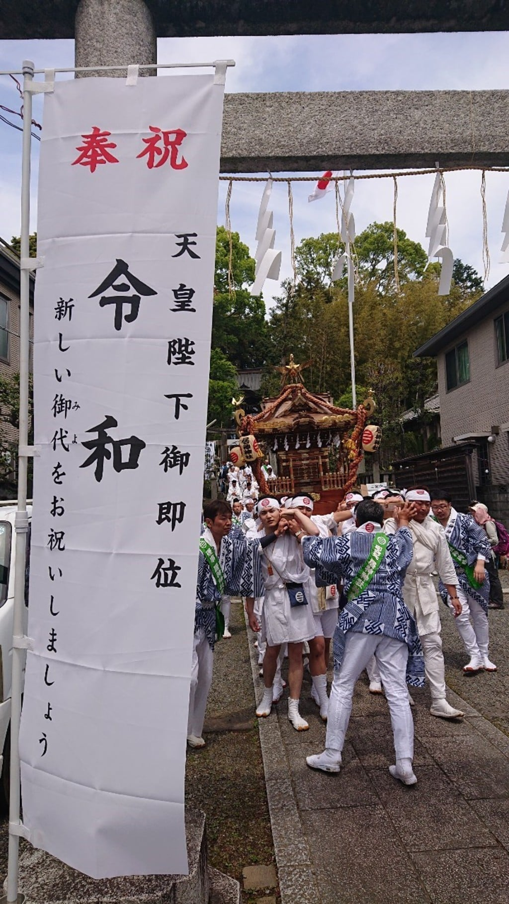 居神神社のお祭り