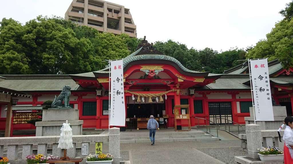 金神社(岐阜県名鉄岐阜駅)
