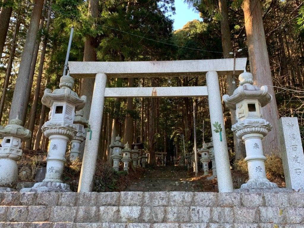 福王神社の鳥居