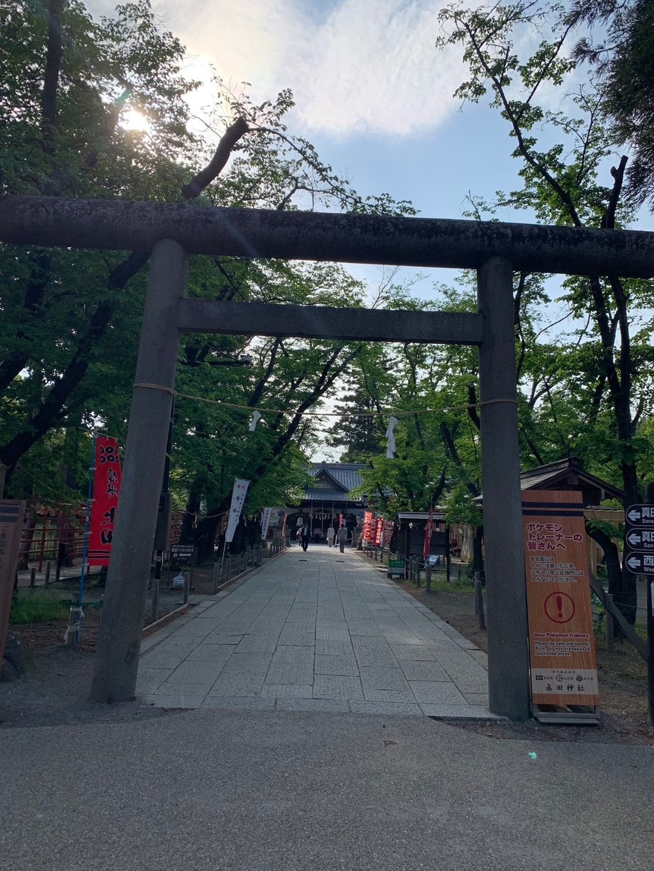 眞田神社(長野県上田駅)