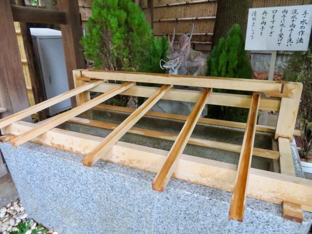 東京大神宮の手水