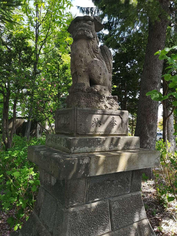 西野神社の狛犬