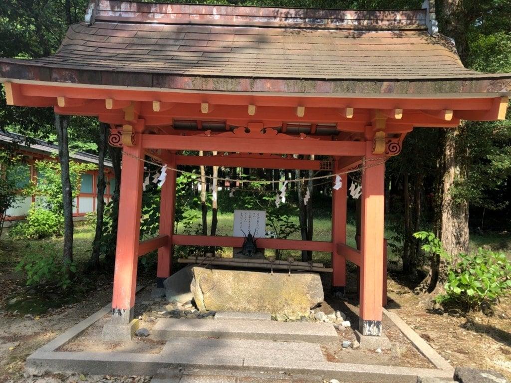 出石神社の手水