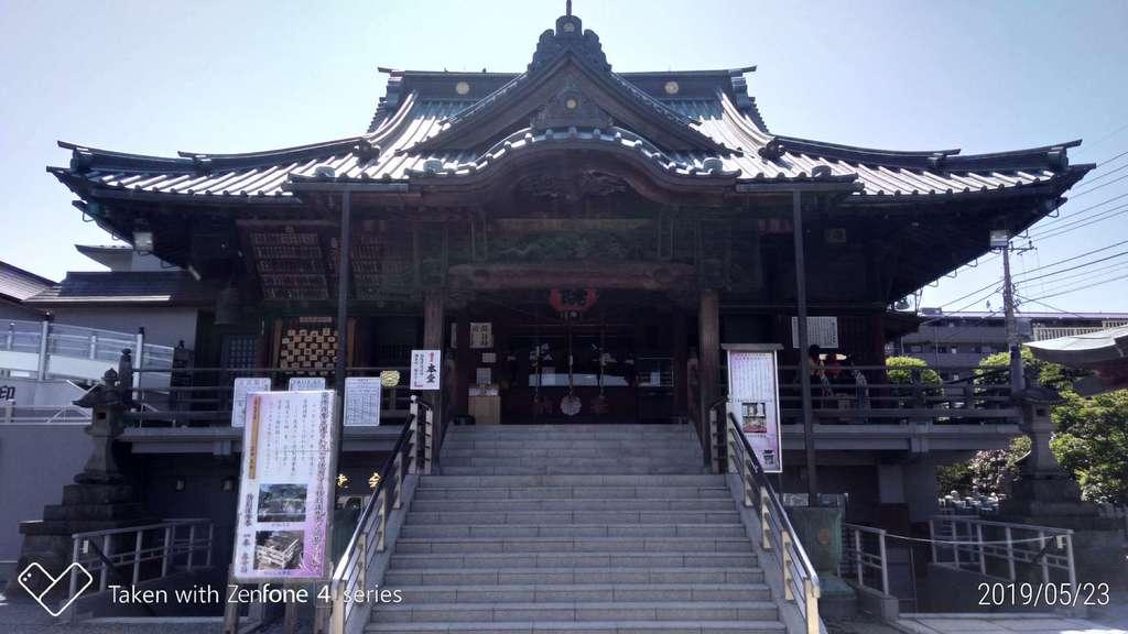 成田山川越別院の本殿
