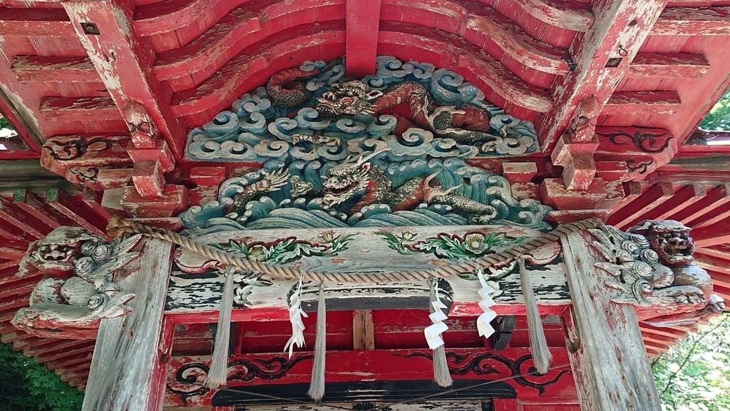 忍路神社の芸術