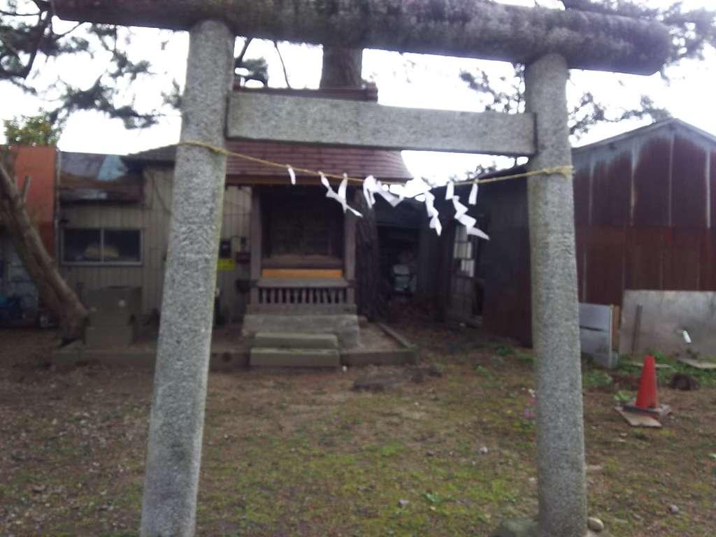 第六天神社の鳥居
