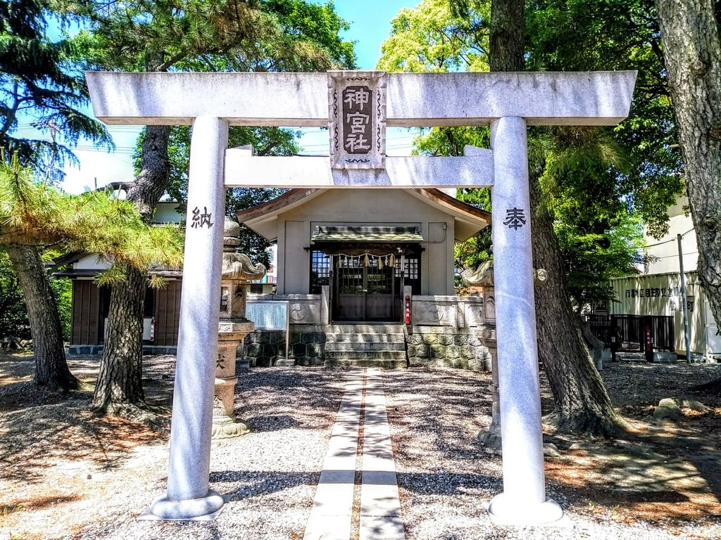 神宮社の鳥居