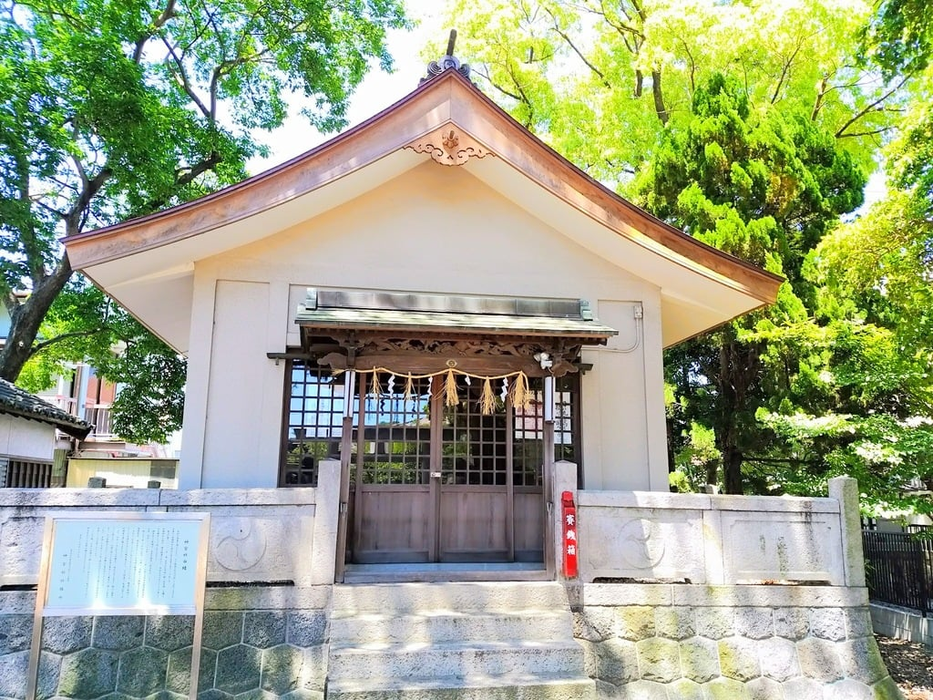 神宮社の境内・文化財