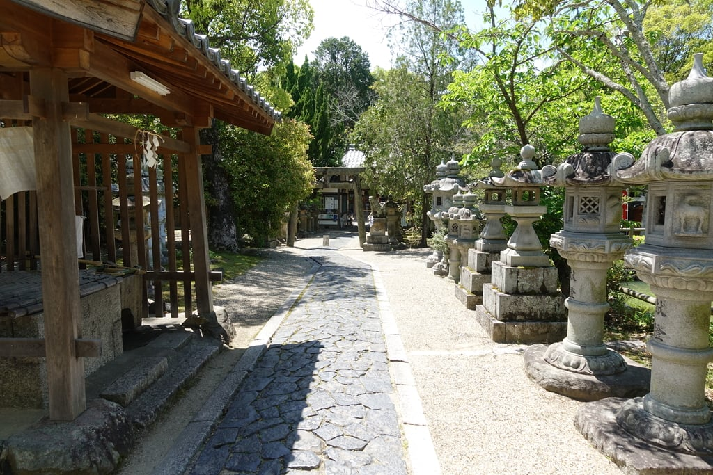 奈良豆比古神社のその他建物(奈良県平城山駅)