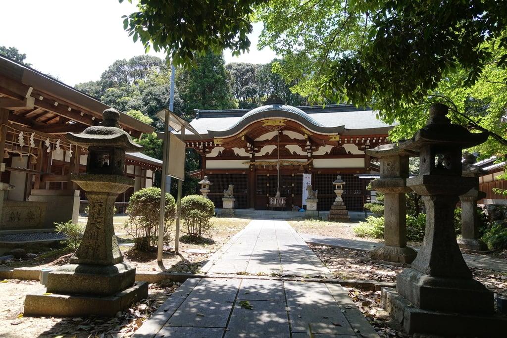 幣羅坂神社の本殿・本堂(京都府木津駅)