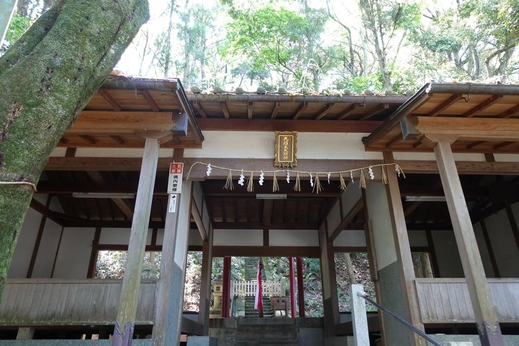 西宮神社の本殿・本堂(京都府山田川駅)