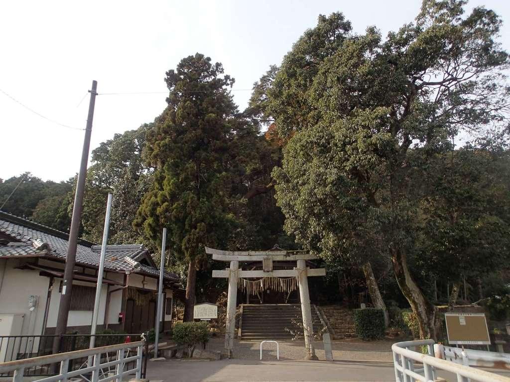 山住神社(石座神社旧地・石座神社御旅所)(京都府)
