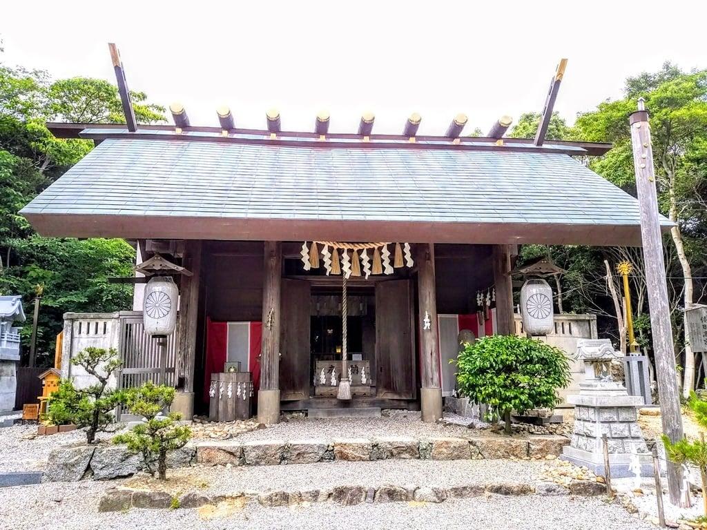 玉鉾神社の本殿・本堂(愛知県知多武豊駅)