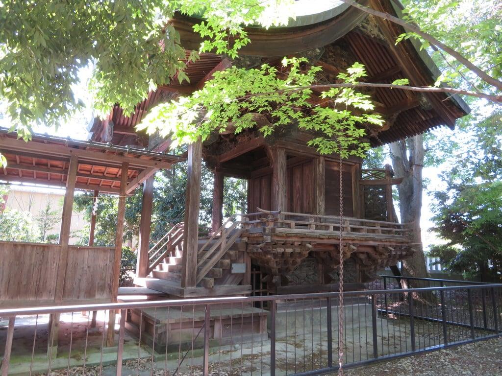佐久神社の本殿・本堂(山梨県南甲府駅)