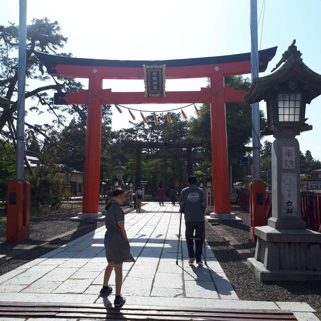 竹駒神社の境内・文化財