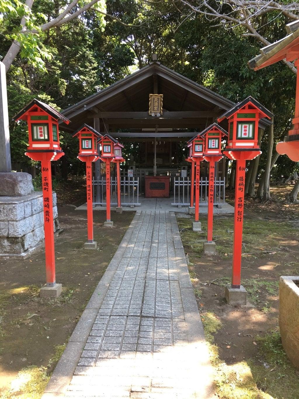 常陸第三宮 吉田神社の末社
