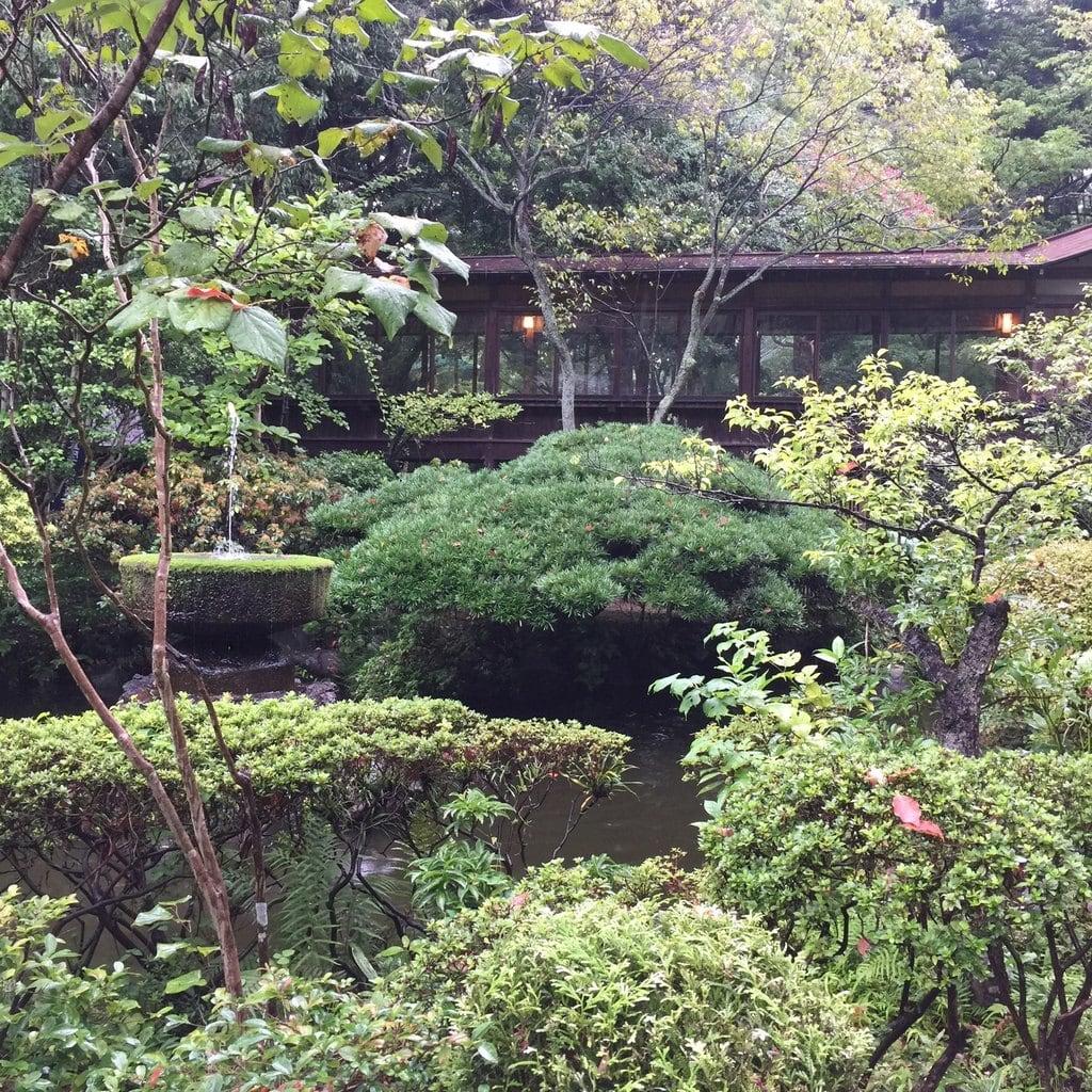 報徳二宮神社の庭園
