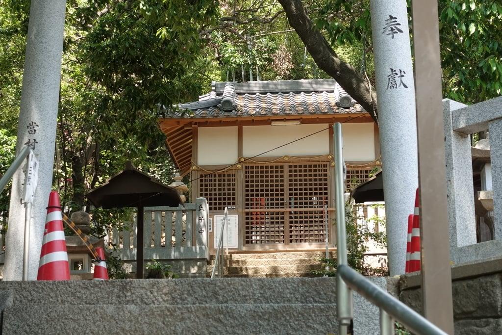 八幡大神宮の本殿