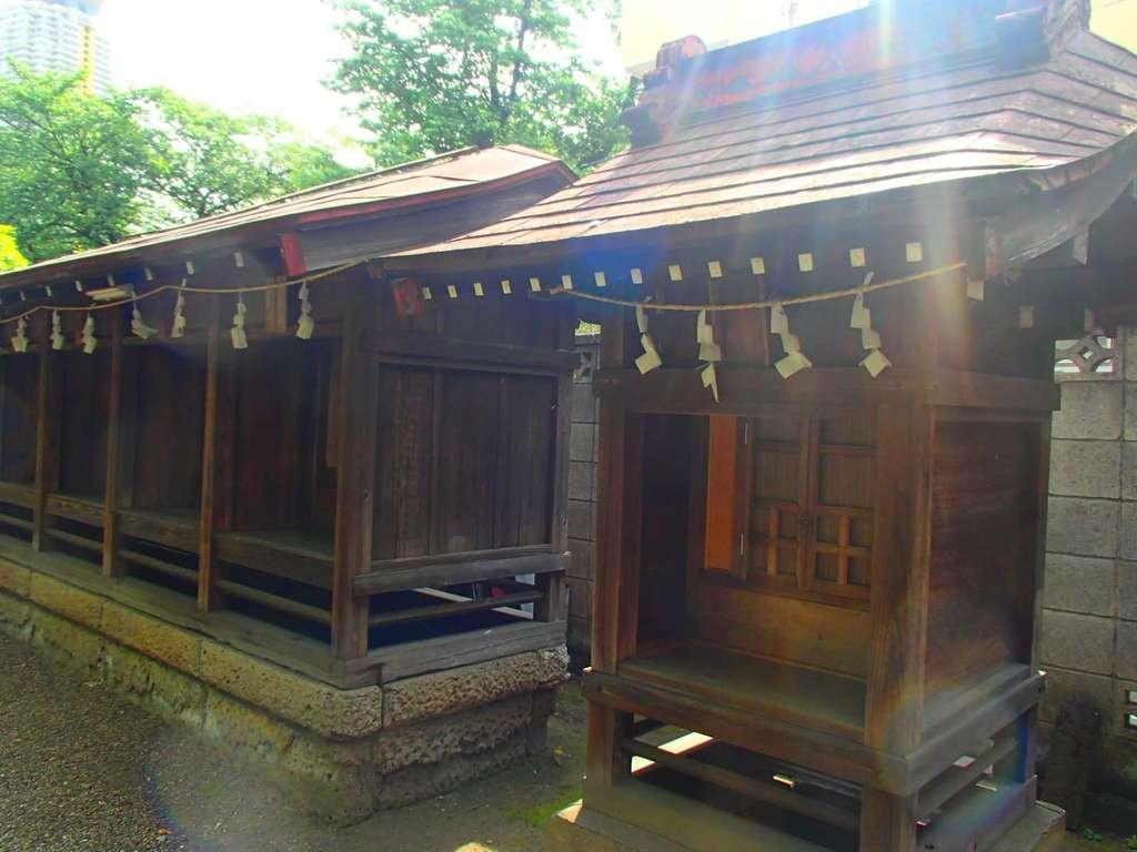 元郷氷川神社の末社