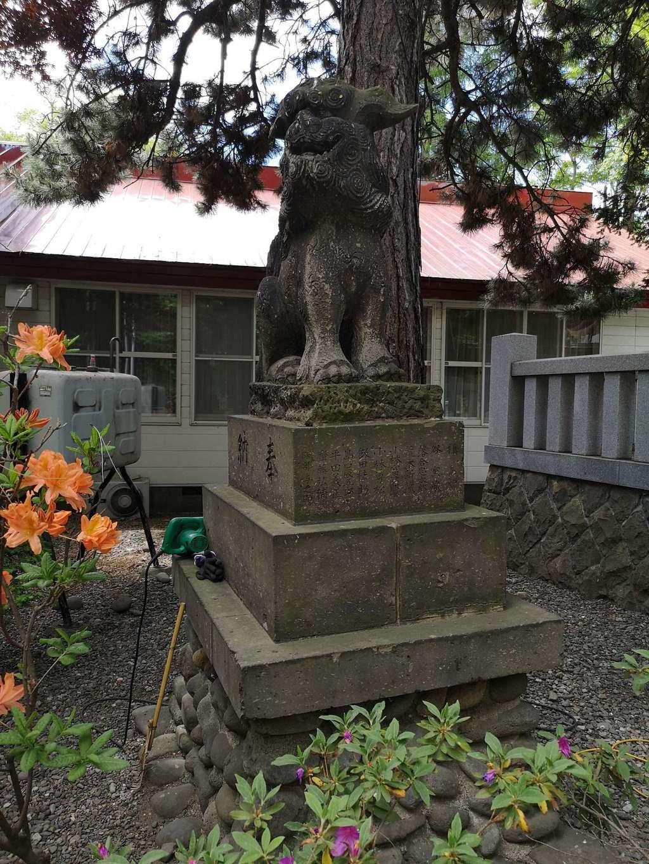 弥彦神社(伊夜日子神社)の狛犬
